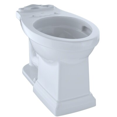 Promenade� II Dual Flush Elongated Toilet Bowl Finish: Cotton White