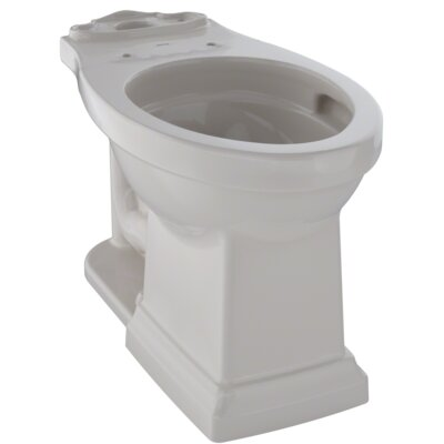 Promenade� II Dual Flush Elongated Toilet Bowl Finish: Sedona Beige