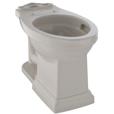 Promenade� II Dual Flush Elongated Toilet Bowl Finish: Bone