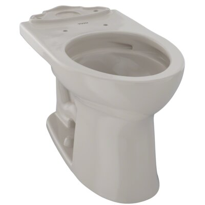 Drake� II Dual Flush Elongated Toilet Bowl Finish: Bone