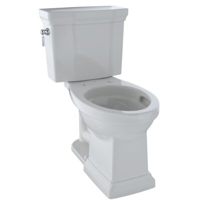 Promenade� II Dual Flush Elongated Two-Piece Toilet Finish: Colonial White