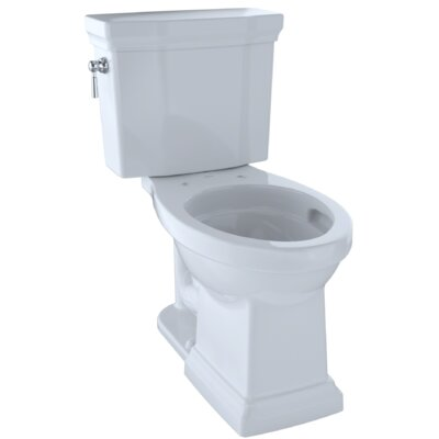 Promenade� II Dual Flush Elongated Two-Piece Toilet Finish: Cotton White