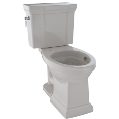 Promenade� II Dual Flush Elongated Two-Piece Toilet Finish: Sedona Beige