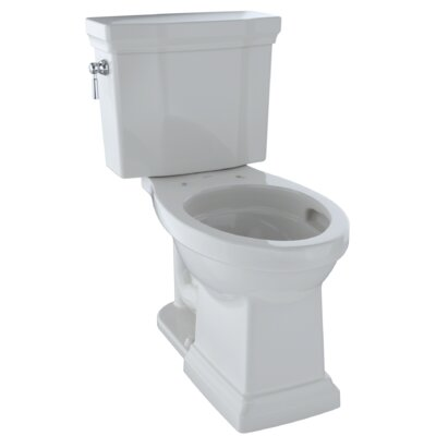 Promenade� II 1 GPF Elongated Two-Piece Toilet Finish: Colonial White
