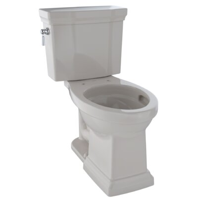 Promenade� II 1 GPF Elongated Two-Piece Toilet Finish: Sedona Beige