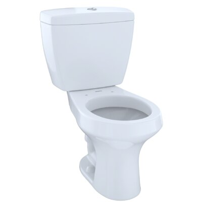 Rowan� Dual Flush Round Two-Piece Toilet Finish: Colonial White