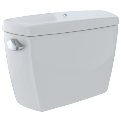 Drake� G-Max� 1.6 GPF Dual Flush Toilet Tank with Bolt Down Lid Finish: Colonial White