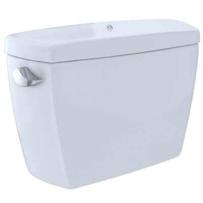 Drake� G-Max� 1.6 GPF Dual Flush Toilet Tank with Bolt Down Lid Finish: Cotton White