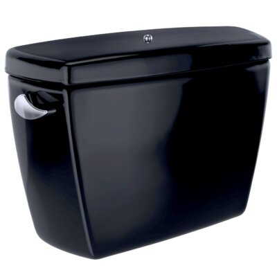 Drake� G-Max� 1.6 GPF Dual Flush Toilet Tank with Bolt Down Lid Finish: Ebony