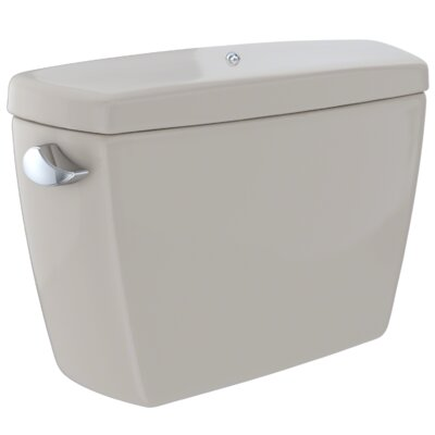 Drake� G-Max� 1.6 GPF Dual Flush Toilet Tank with Bolt Down Lid Finish: Bone