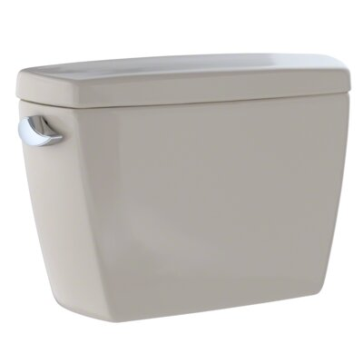 Eco Drake� Transitional E-Max� Dual Flush Toilet Tank Finish: Bone