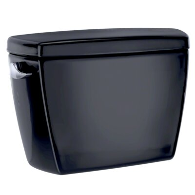 Eco Drake� Transitional E-Max� Dual Flush Toilet Tank Finish: Ebony