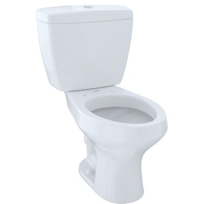 Rowan� Dual Flush Elongated Two-Piece Toilet Finish: Cotton White