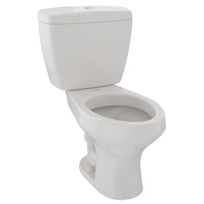 Rowan� Dual Flush Elongated Two-Piece Toilet Finish: Sedona Beige