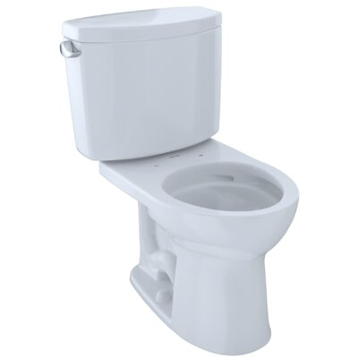 Drake� II Dual Flush Round Two-Piece Toilet