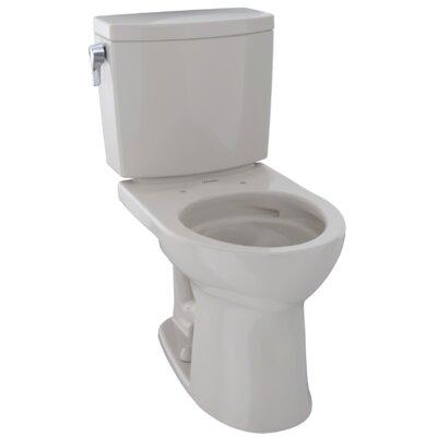 Drake� II 1 GPF Round Two-Piece Toilet Finish: Sedona Beige