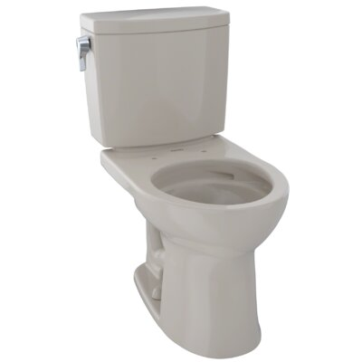 Drake� II 1 GPF Round Two-Piece Toilet Finish: Bone
