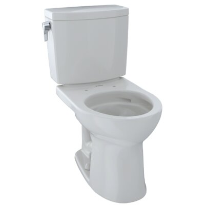 Drake� II 1 GPF Round Two-Piece Toilet Finish: Colonial White