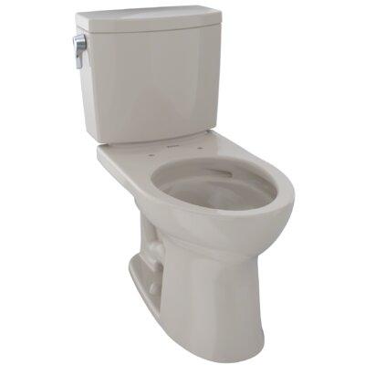Drake� II 1 GPF Elongated Two-Piece Toilet Finish: Bone