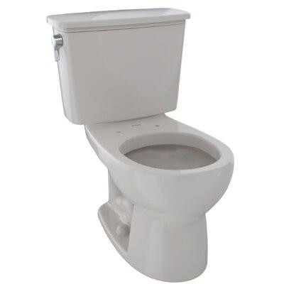 Eco Drake� 1.28 GPF Dual Flush Elongated Two-Piece Toilet Finish: Sedona Beige