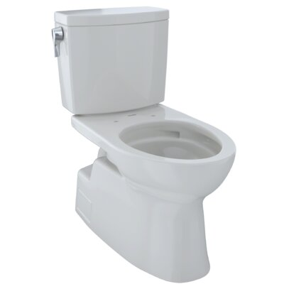 Vespin� II 1 GPF Elongated Two-Piece Toilet Finish: Colonial White