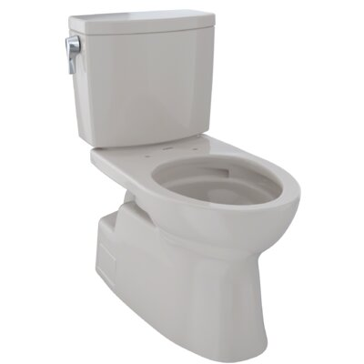 Vespin� II 1 GPF Elongated Two-Piece Toilet Finish: Sedona Beige