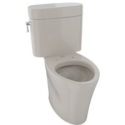 Nexus 1.28 GPF Elongated Two-Piece Toilet Finish: Bone