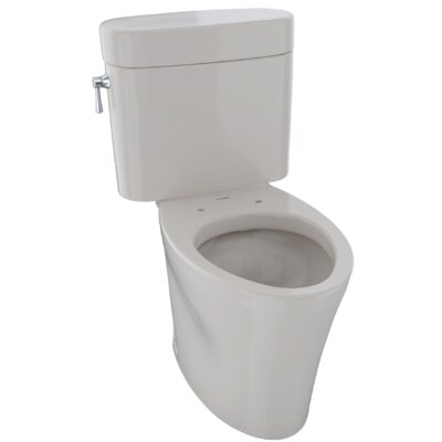 Eco Nexus� Dual Flush Elongated Two-Piece Toilet Finish: Sedona Beige