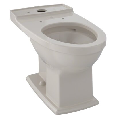 Connelly� 0.9 GPF Elongated Toilet Bowl Finish: Bone