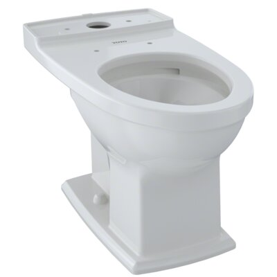 Connelly� 0.9 GPF Elongated Toilet Bowl Finish: Colonial White