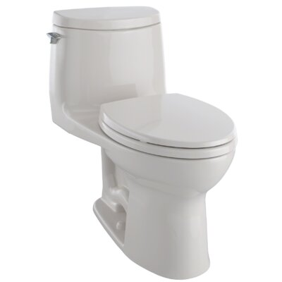 UltraMax� II 1 GPF Elongated Two-Piece Toilet Finish: Sedona Beige