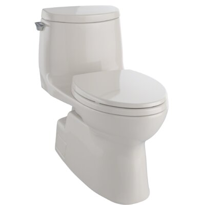 Carlyle II 1.28 GPF Elongated One-Piece Toilet Finish: Bone