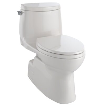 Carlyle II 1.28 GPF Elongated One-Piece Toilet Finish: Sedona Beige