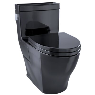 Aimes� 1.28 GPF Dual Flush Elongated One-Piece Toilet