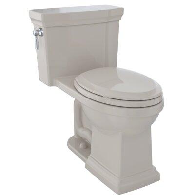 Promenade� II 1.28 GPF Dual Flush Elongated One-Piece Toilet Finish: Bone