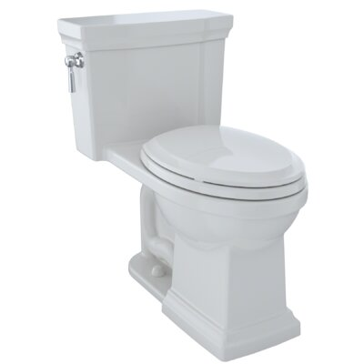 Promenade� II 1.28 GPF Dual Flush Elongated One-Piece Toilet Finish: Colonial White