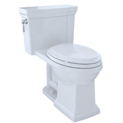 Promenade� II 1.28 GPF Dual Flush Elongated One-Piece Toilet Finish: Cotton White