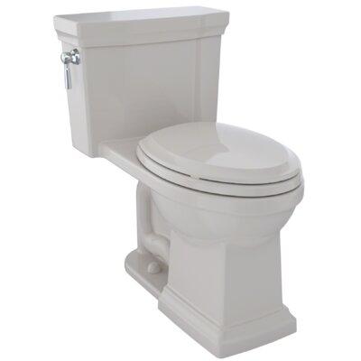 Promenade� II 1.28 GPF Dual Flush Elongated One-Piece Toilet Finish: Sedona Beige