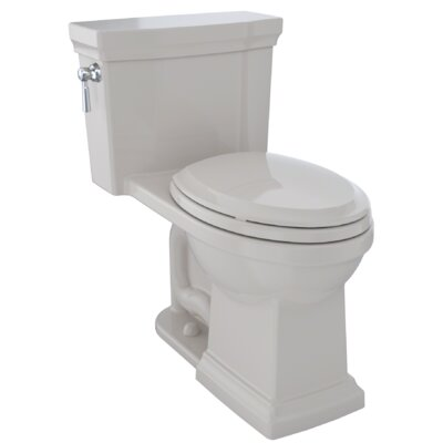 Promenade� II Dual Flush Elongated Two-Piece Toilet Finish: Sedona Beige