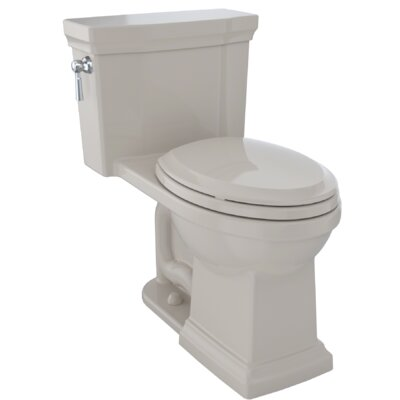 Promenade� II Dual Flush Elongated Two-Piece Toilet Finish: Bone