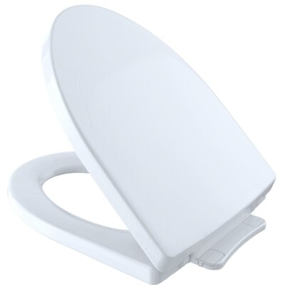 SoftClose� Elongated Toilet Seat Finish: Cotton White