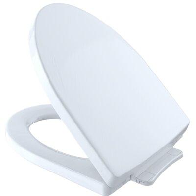 SoftClose� Elongated Toilet Seat Finish: Cotton White