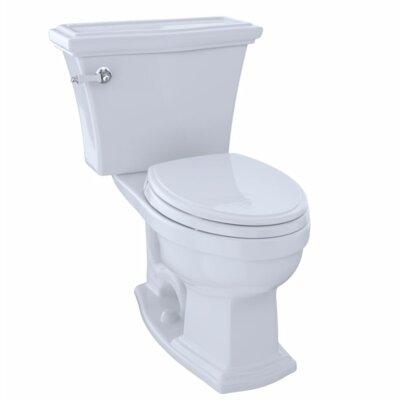 Clayton 1.6 GPF Elongated Two-Piece Toilet Toilet Finish: Cotton