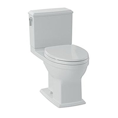 Connelly� Dual Flush Elongated Two-Piece Toilet Finish: Bone