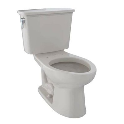Eco Drake� Dual Flush Elongated Two-Piece Toilet Finish: Sedona Beige