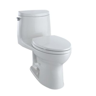 UltraMax� II 1 GPF Elongated Two-Piece Toilet Finish: Bone