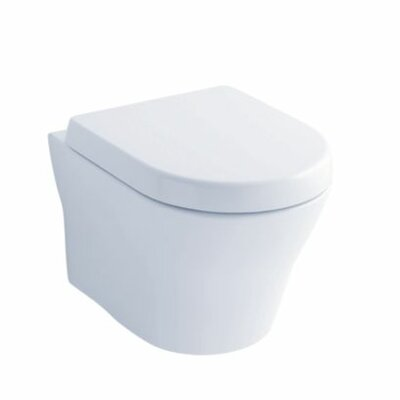 MH Wall-Hung 1.28 GPF Dual Flush Elongated Toilet Bowl