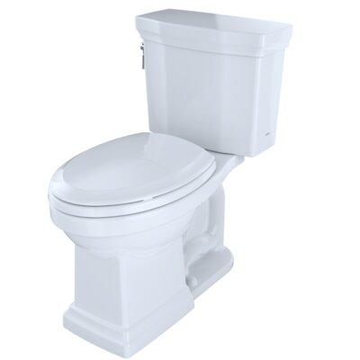 Promenade� II Dual Flush Elongated Two-Piece Toilet Finish: Cotton White