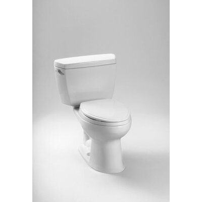 Drake Eco 1.28 GPF Elongated Two-Piece Toilet Trip Lever Orientation: Left-Hand