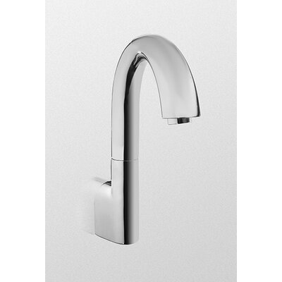 Eco Power Wall Mounted Electronic Gooseneck Bath Faucet Flow Rate: .5 GPM